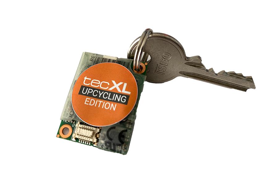 tecXL Upcycling Edition - Upcycle Key Chain - Schlüsselanhänger - shop.bb-net.de