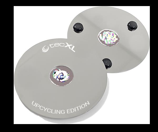 tecXL Upcycling Edition - Upcycle Coasters - Untersetzer - 2er Set - shop.bb-net.de