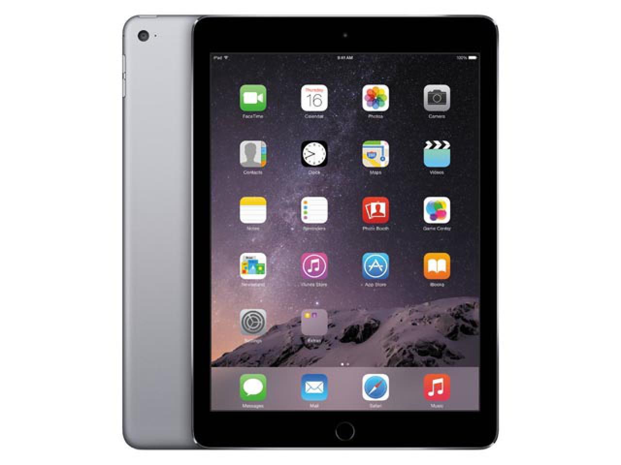 Apple iPad Air 2 A1566 Spacegrau  - shop.bb-net.de