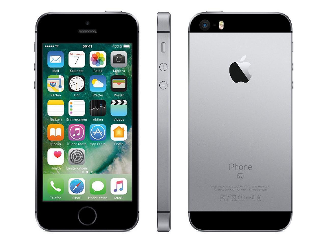 Apple iPhone SE Space-Grau  - shop.bb-net.de