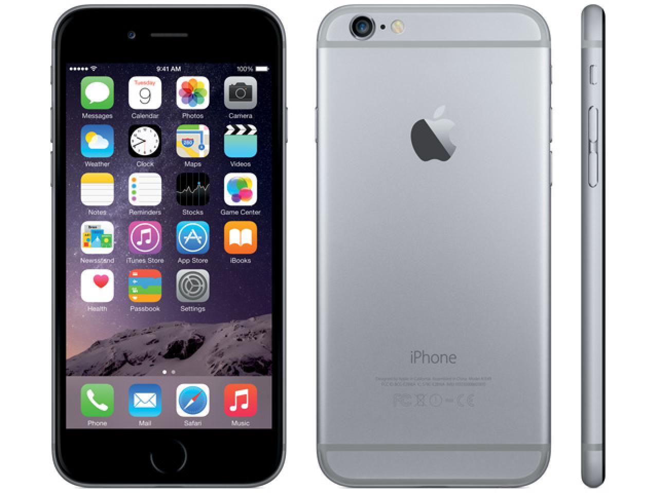 Apple iPhone 6 Space-Grau  - shop.bb-net.de