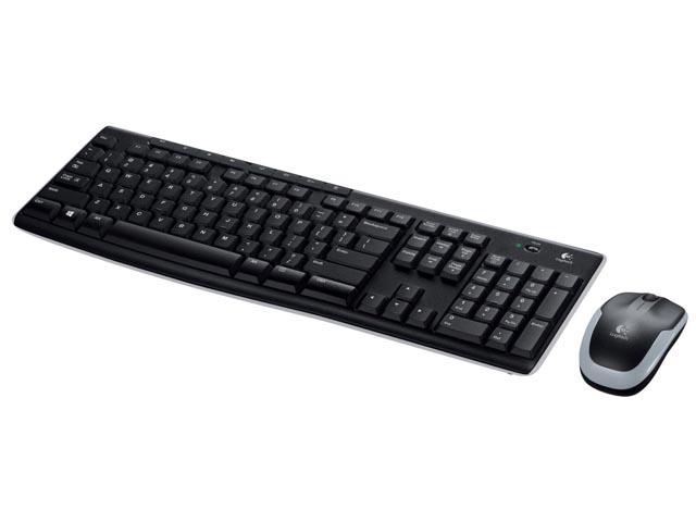 Logitech MK270 Wireless Tastatur and Maus Set USB Schwarz - 920-004511 Retail - shop.bb-net.de