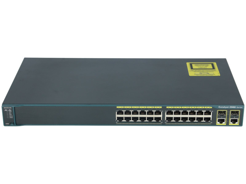 Cisco Catalyst 24 Port Switch C2960-24TC-L - shop.bb-net.de