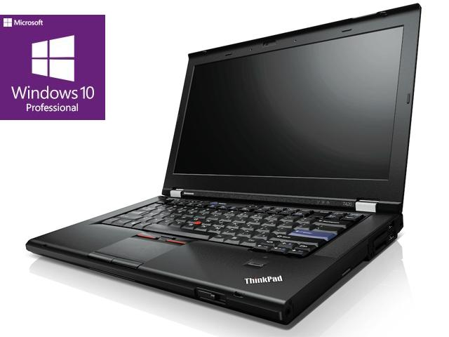 Lenovo ThinkPad T420 / Intel 2520M Core i5 2x2.50 GHz / 14 / 1366 x 768 WXGA / Intel HD Graphics 3000 SM / 8192 MB DDR3 / 256 GB SSD NEU / DVDRW / Ethernet LAN WLAN Bluetooth Card Reader / W10PRO ESET / DE / Akku OK / GK TM /  / Retail Orange / 2.Wahl